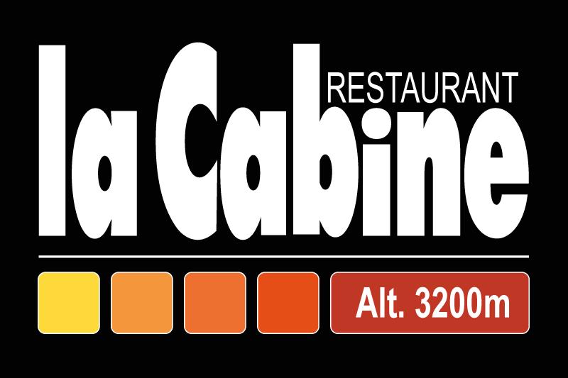 La cabine logo restaurant v3 2017 fond noir