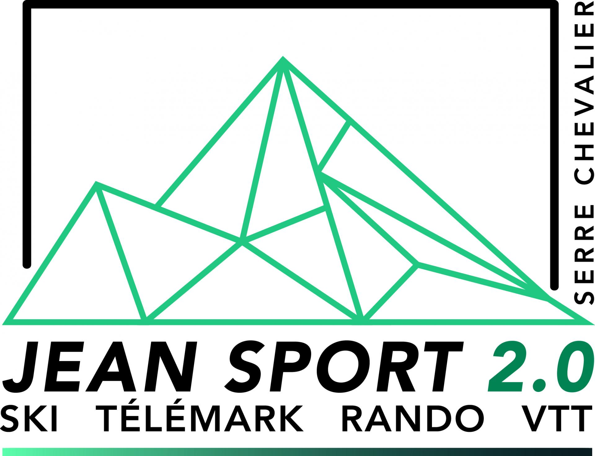 Logo jeansport blanc